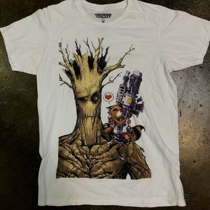 Guardians of the Galaxy Mens Medium Graphic Tee